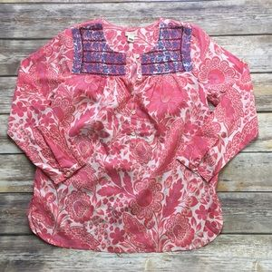NEW J Crew Embroidered Blouse